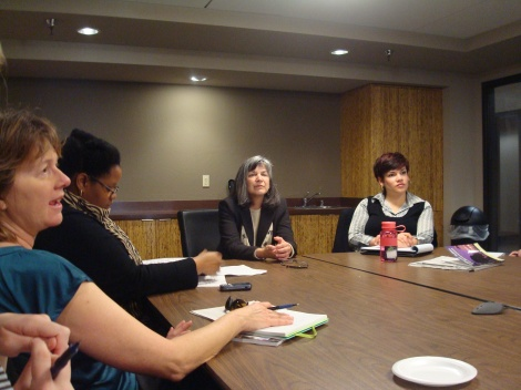 June Clark, California Judicial Council (Center)